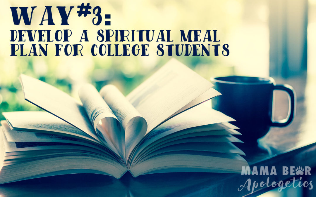 Way #3: Develop a Spiritual Meal Plan for College Students