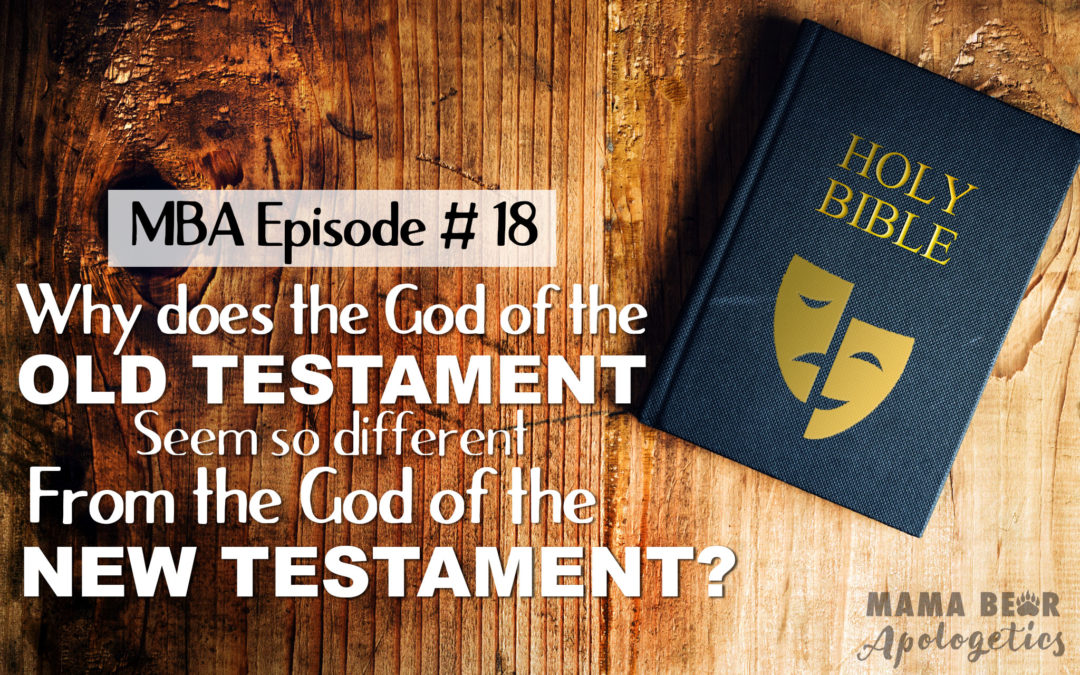 MBA Episode 18: Why Does the God of the Old Testament Seem So Different from the God of the New Testament?