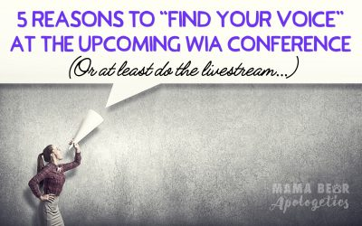 Top 5 Reasons to Attend the WIA 2020 Conference (or at least do the livestream)