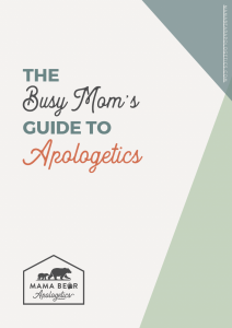 Busy Mom's Guide Cover Shot